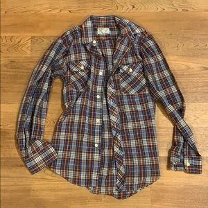 Other - Vintage plaid button up